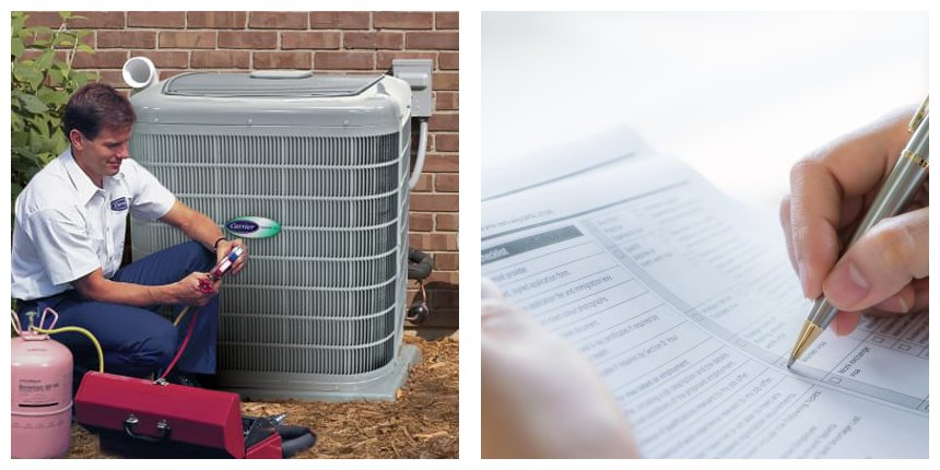 replace the HVAC system